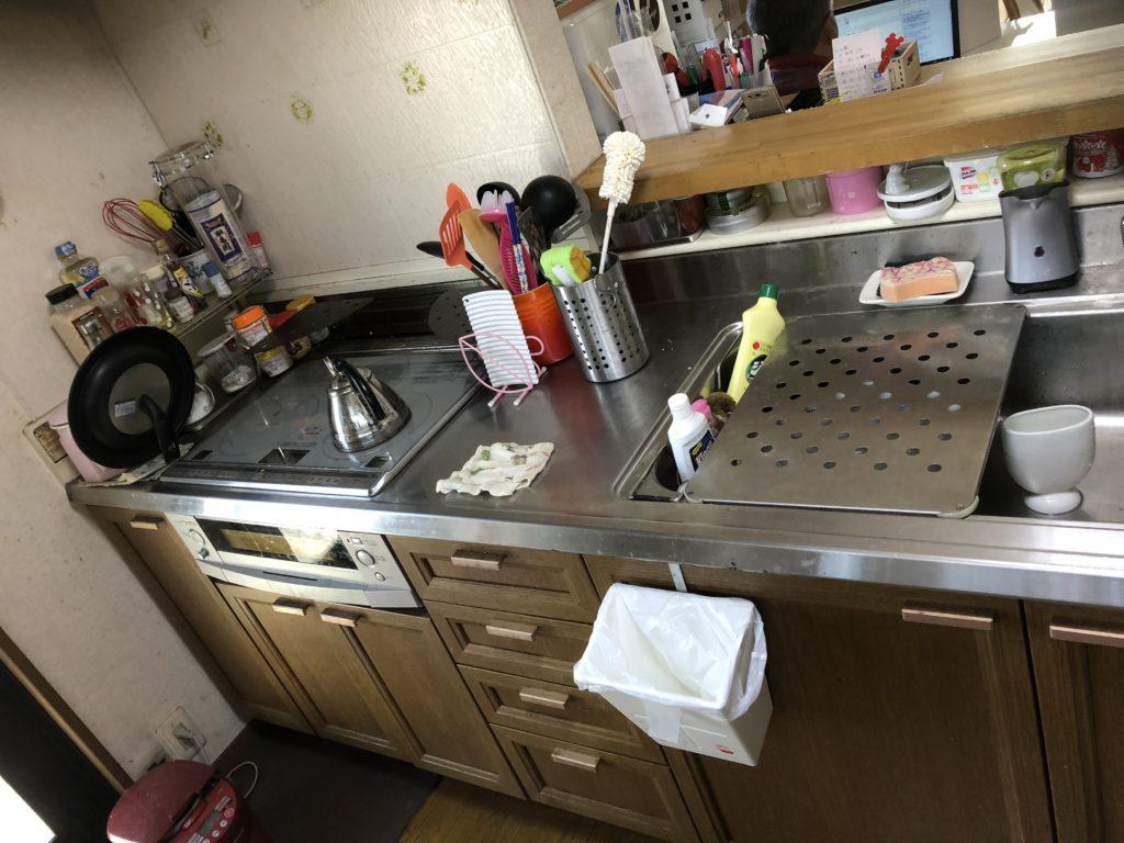 倉敷のキッチンリフォーム