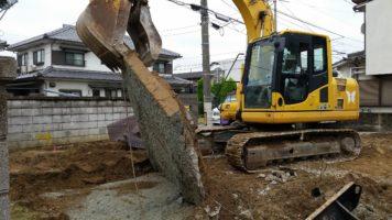 岡山市北区 住宅解体工事