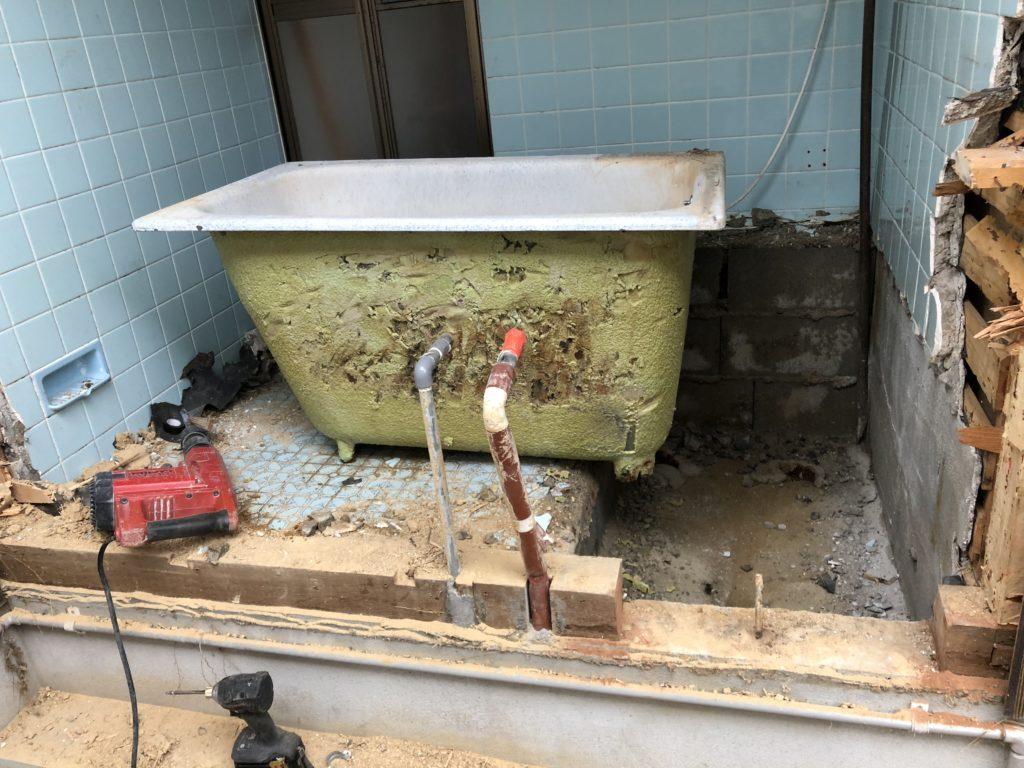 岡山でお風呂改装