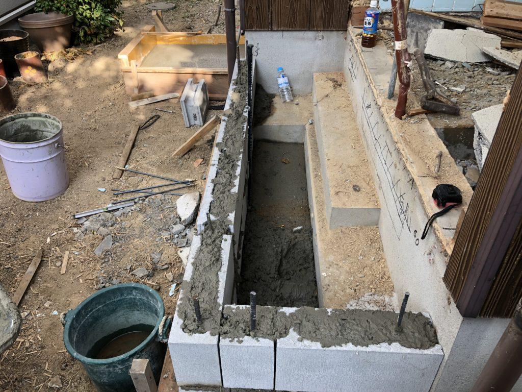 岡山の基礎工事例