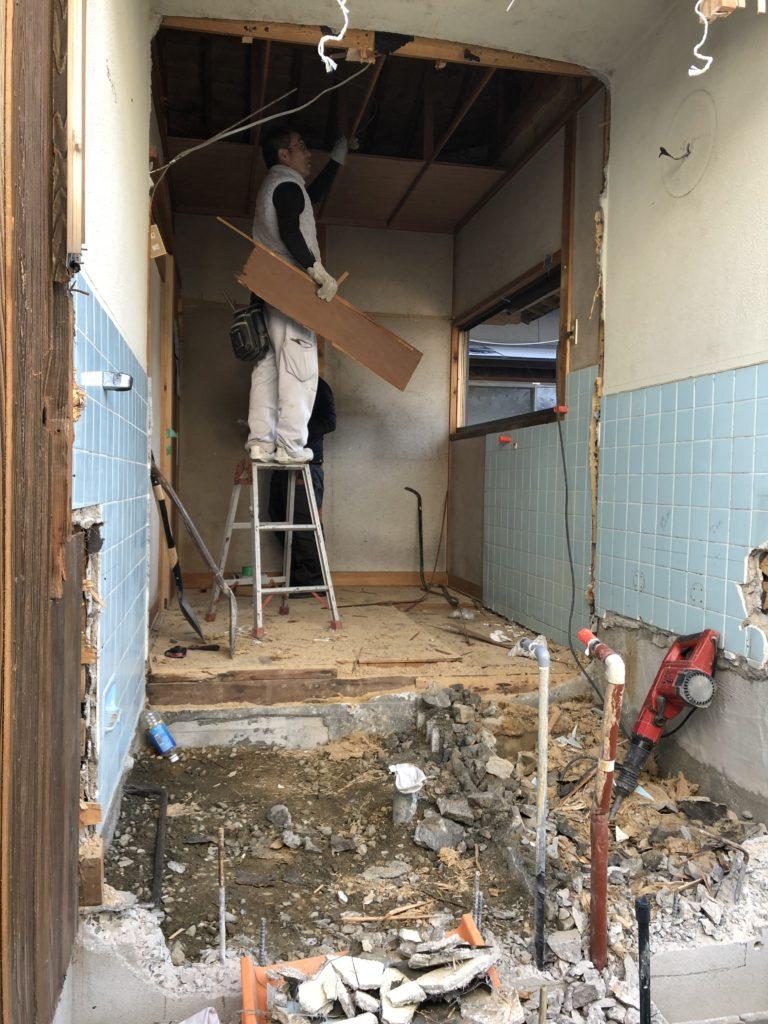 岡山で内装解体