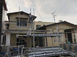 岡山市南区の住宅屋根・外壁塗装