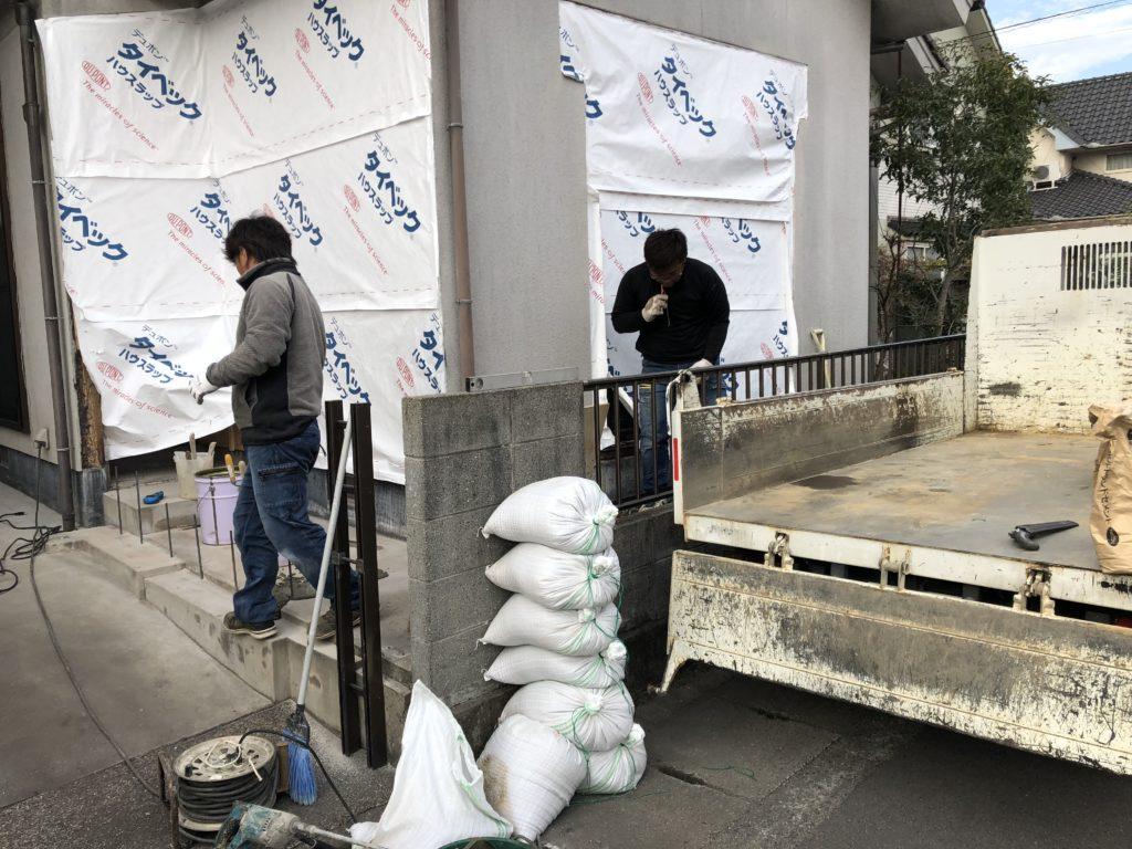 岡山県での基礎工事