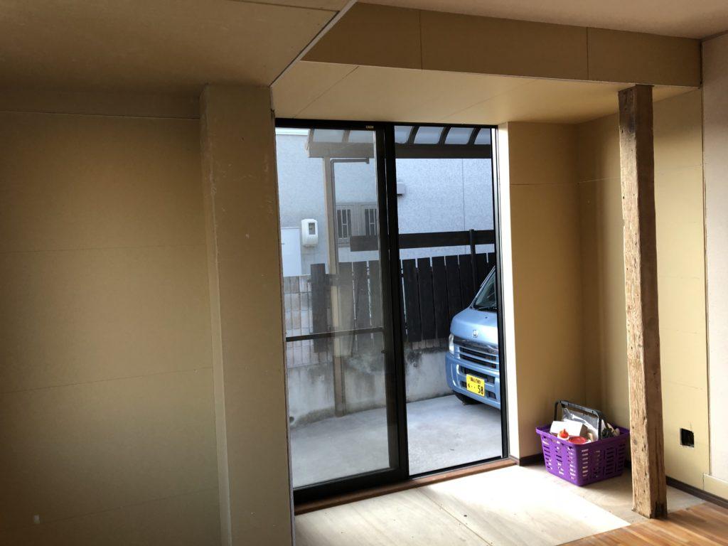 岡山で住宅の内装造作