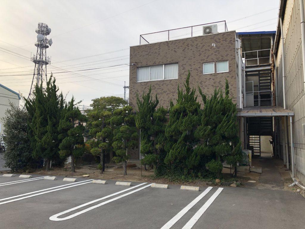 岡山市にて駐車場整備工事