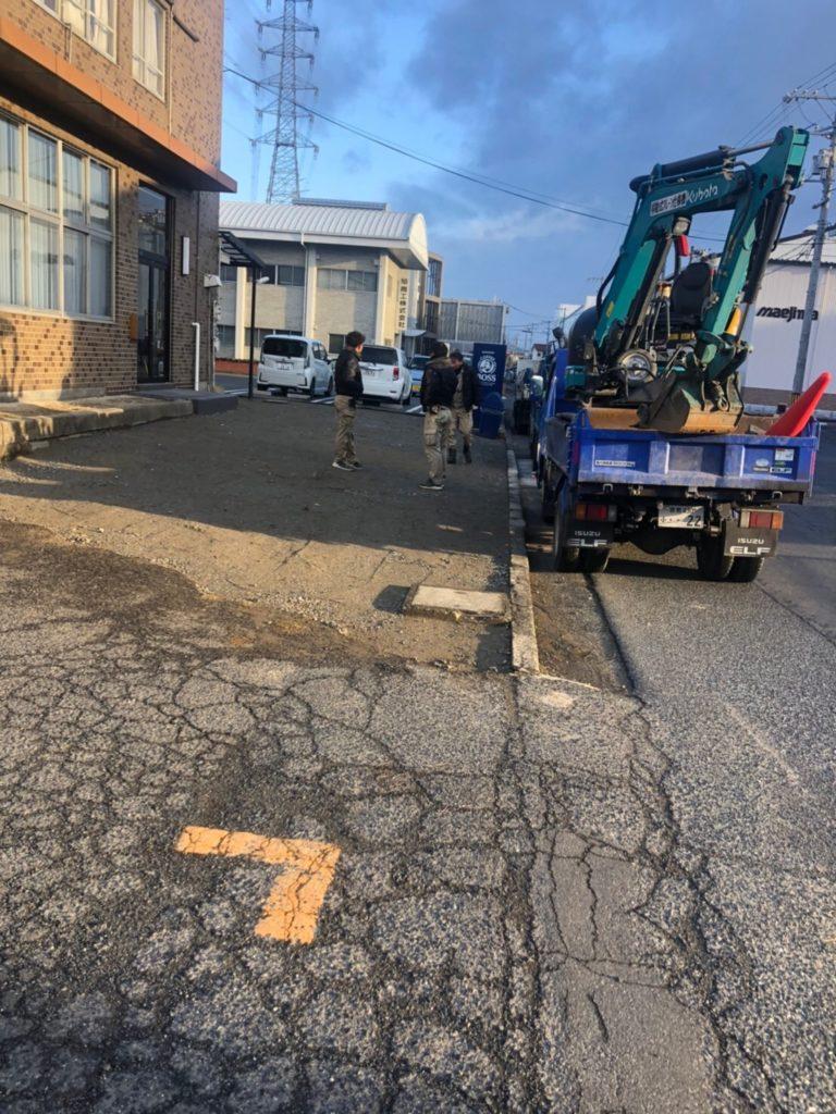 岡山市で整地や埋め戻し、掘削は当社にお任せ!