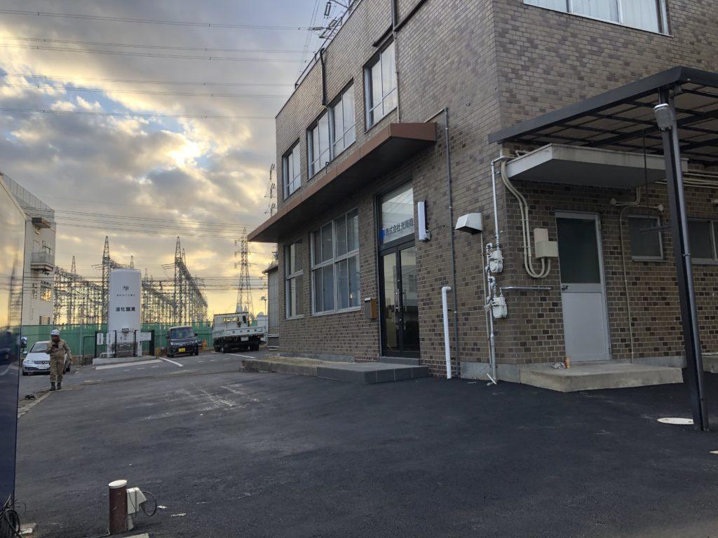 岡山県の舗装工事