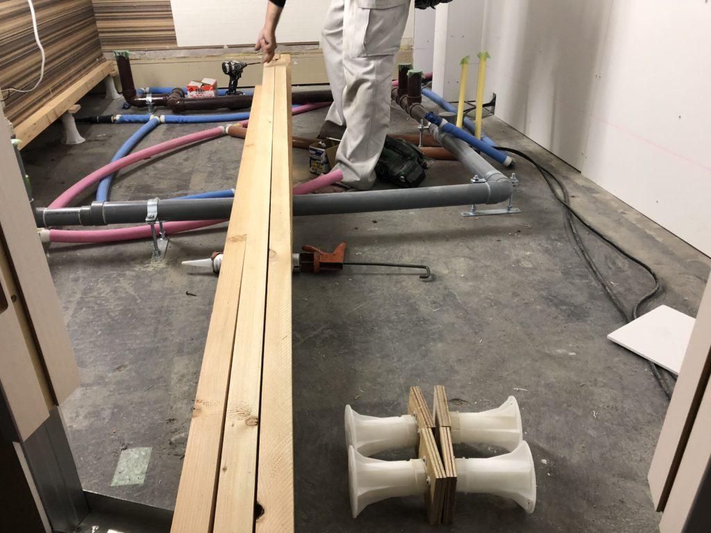 岡山の配管工事例